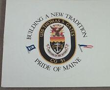 US Navy Decal - Sticker - USS Thomas S. Gates CG-51