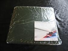 Creative Memories 12x12 White Embossed Geometric Design Album Coverset NEW!!