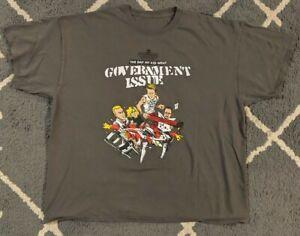 Government Issue Shirt 2XL - Minor Threat Adrenalin O.D. Dag Nasty Husker Du