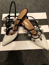 Aquazzura Disco Sling Back Shoes Size 35