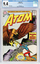 The ATOM #5 CGC NM 9.4  Fresh ow/w/ PAGES - 2nd HIGHEST CGC GRADE - 1963