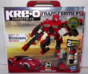 Kre-o Transformers Sideswipe 2 in 1 Build