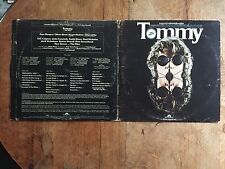 The WHO Soundtrack to Tommy the Movie Vinyl LP 1975 Deluxe Double Polydor