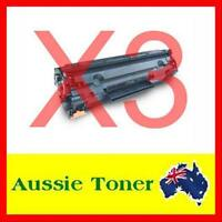 3x TONER Cartridge CE285A 85A For HP LaserJet M1212NF P1102 P1102W Laser Printer