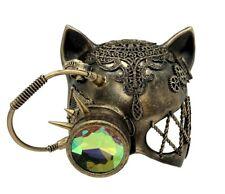 Silver Annihilus Steam Punk Skull Mask Masquerade Costume Halloween Unisex Goth