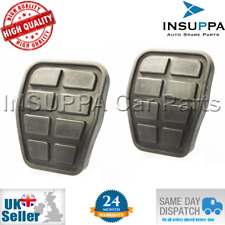 2X CLUTCH / BRAKE PEDAL PAD FOR VW TRANSPORTER MK4 T4 CAMPER VAN CARAVELLE 90-03
