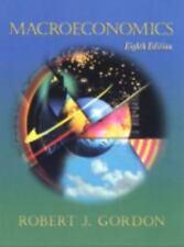 Macroeconomics by Robert J. Gordon (1999, Hardcover)