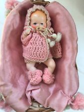 """vintage bisque Dionne Quintuplet Jointed Baby Dolls about 5"""" tall lot #2"""
