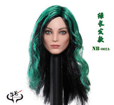 COW PEN ToyS NB-002A Polaris Emma Female 1/6 Head Sculpt Green Long Hair FigureS