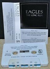 EAGLES      -  THE LONG RUN  -                              Cassette Tape