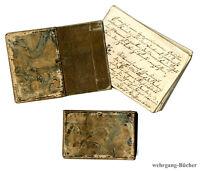 Stammbuch, Weissenburg, 1836/37