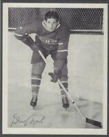 1945-54 Quaker Oats Photos Montreal Canadiens #86A Elmer Lach/Home Still