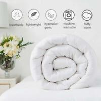 LUXURY DUVET WARM HOTEL QUALITY QUILT 10.5 13.5 15 TOG SINGLE DOUBLE SUPER KING