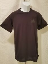 ADIDAS Performance Ultimate Tee Short Sleeve Men's Size 2XL XXL Black Slim Fit
