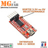 Module FTDI FT232RL USB vers TTL Serial UART Sortie 5V et 3.3V | ARDUINO RS232