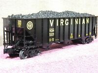 LIONEL SCALE #6-17797 VIRGINIAN NS HERITAGE 3 BAY BRACED HOPPER CAR NIB