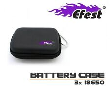 New Efest 3x 18650 or 2x 26650 Battery Box Battery Case Protective Carry Bag