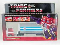 Transformers G1 Autobot Leader Optimus Prime Toy Figure Model Collection SET
