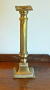 Vintage Brass Altar Candlestick 34.5cm