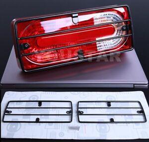 US STOCK x2 Rear Tail Light Guard Grills for Mercedes W463 W461 Professional