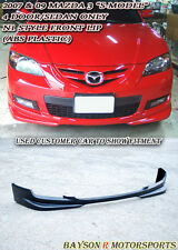 N1-Style Front Lip (ABS) Fits 07-09 Mazda 3 4dr S-Model