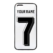 Personalised Football team Real Madrid iPhone Case 5 5c 5s 6 PLUS Cover Any Name