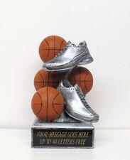 Basketball Trophy Ring Bearer Gift Resin Piggy Bank Free Engraving