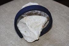 Navy Cashmere Headband