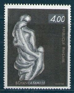TIMBRE 2234 NEUF XX LUXE - LA FAMILLE - SCULPTURE DE MARC BOYAN