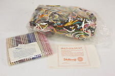 """Shillcraft MultiColor Kit Latchet Latch Hook Rug Kit 18"""" x 18"""" Craft Project"""