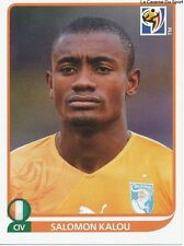 N°542 DIDIER DROGBA # IVORY COAST STICKER PANINI WORLD CUP SOUTH AFRICA 2010