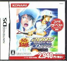 The Prince of Tennis 2005 CRYSTALDRIVE BEST DS NDS JAPA