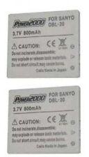 2 DB-L20 DBL-20AU VAR-L20U Battery for Sanyo VPC-C1 VPC-C4 VPC-C5 VPC-C6 VPC-CA9