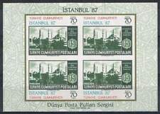 Turkije postfris 1985 MNH block 24 - Istanbul 1987 (S0298)
