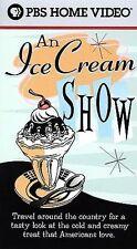 An Ice Cream Show - PBS Home Video (VHS, 2000)