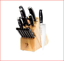 Zwilling J. A. Henckels FORGED PREMIO KNIFE Set - 14 Piece Cutlery w/ BLOCK NEW*