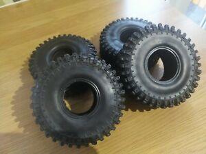 """Rc car crawler tyres super swamper 1.9"""" 120mm trx4 scx10"""