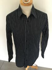 Jaeger Mens Striped Long Sleeve Slim Fit Shirt Size 15 1/2. Good Condition.
