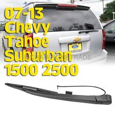 Rear Window Windshield Wiper Blade+Arm For 07-13 Chevy Tahoe Suburban 1500 CT