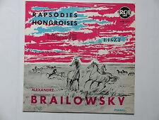 rapsodie hongroises LISZT ALEXANDRE BRAILOWSKY 600377