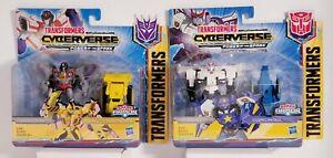 2 Transformers Cyberverse: PROWL&COSMIC PATROL + STARSCREAM&DEMOLITION DESTROYER