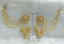 Fashion Party Ethnic Jhumka Diwali Vd Earring Indian Women Gold Plated Bollywood