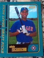 EDWIN ENCARNACION 2001 Topps Rookie Card RC LOT 4 HOT New York Yankees 401 HRs