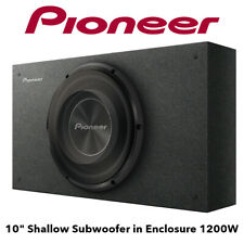 """Pioneer TS-A2500LB - 10"""" Shallow Subwoofer in Enclosure 1200W Bass Subwoofer"""