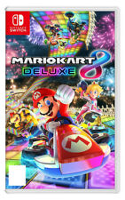 Mario Kart 8 Deluxe Nintendo Switch Brand New