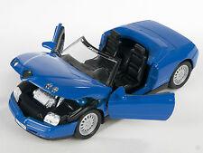 BLITZ VERSAND Alfa Romeo Spider blau / blue Welly Modell Auto 1:24 NEU & OVP 387