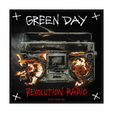 GREEN DAY REVOLUTION RADIO OFFICIAL LICENSED SEW ON PATCH PUNK ROCK BADGE NEW