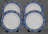 Set (4) ROYAL DOULTON Bone China AUSTIN PATTERN Dinner Plates MADE IN ENGLAND