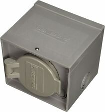 Generac 6340 30-Amp 125/250V Raintight Power Inlet Box with Flip Lid