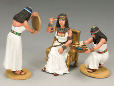 3-piece Cleopatra and Her Handmaidens 1/30 Figure Set